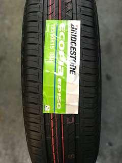 Bridgestone ecopia 195 60 15 tayar almera sylphy grand livina