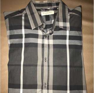 Burberry london Classic mens shirt Size:L