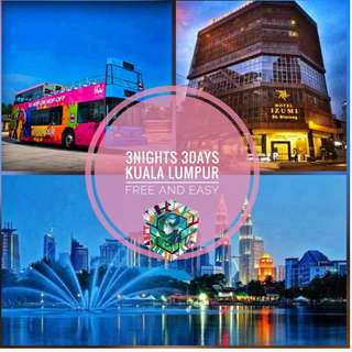 3N3D KUALA LUMPUR MALAYSIA FREE AND EASY AUGUST GETAWAY FOR 2