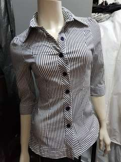 Strip blouse