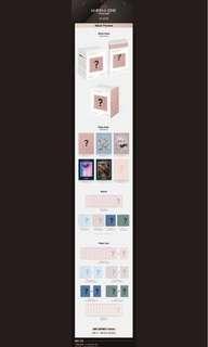 [ EMS PO ] Wanna One Album