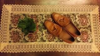 Antonio Manila Tan Brown Tassel Loafers