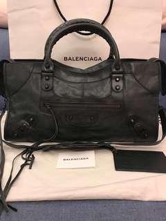 專櫃正品 85成新 Balenciaga 巴黎世家 非City Part time 機車包