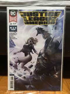Justice league of America Mattina variants