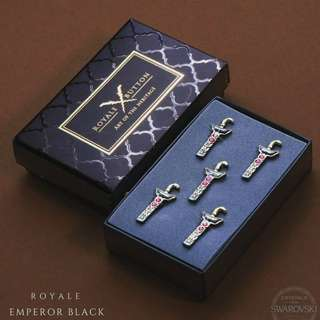 [INSTOCK]100% ORIGINAL ROYALE BUTTON FOR MEN