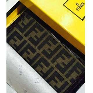 Authentic Fendi Zucca Wallet Preloved