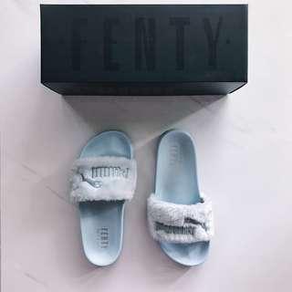 Puma FENTY Fur Slide Sandals