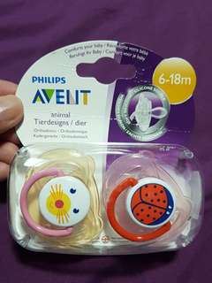SALE!! Fast deal!!!Avent Pacifiers Philips