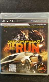 New/Sealed PS3 Need For Speed The Run