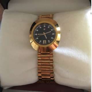 Original Rado Diastar Automatic (Gold) 557.0416.3