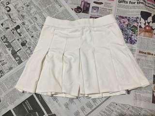 White Tennis Skirt | Korean Style 🌹