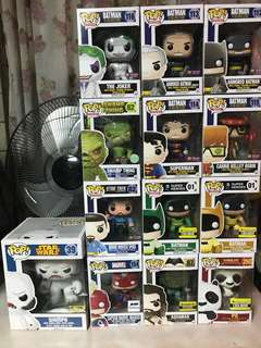 Funko Pop DC Sesame Street Marvel Adventure Time Game of Thrones