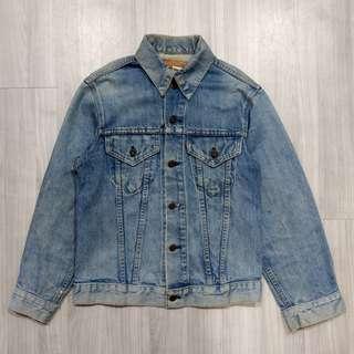 🚚 Levi's levis 美國製老品刷色牛仔外套
