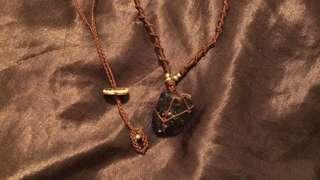 LivingThingS •樹脂• 手工編織 巴西蠟繩 編礦