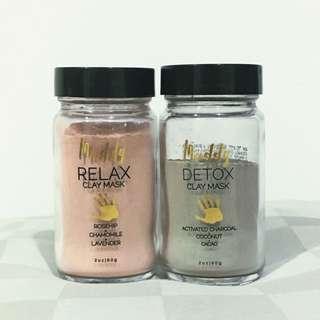 MUDDY BODY DETOX + RELAX CLAY MASK