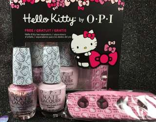 Hello Kitty By OPI (New)