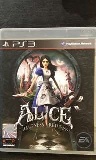 PS3 Alice - Madness Returns