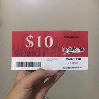 $35 for $40 capitavoucher