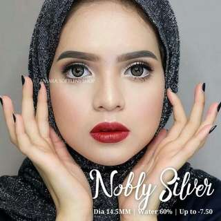 Nobly silver and gold softlens