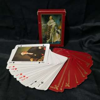 Vintage playing card collection Made in France