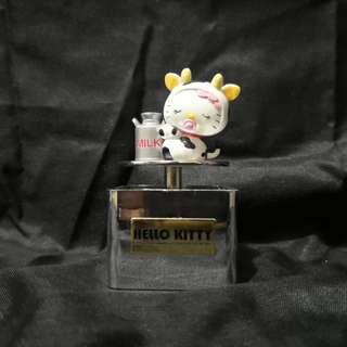 Hello Kitty milk cow music box collection