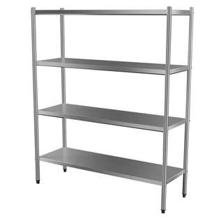STAINLESS STEEL 4 TIER RACK