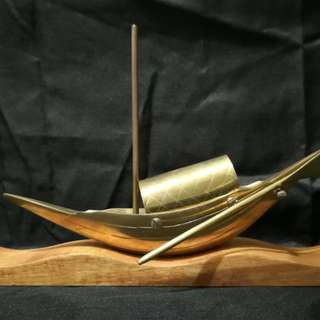 Brass ship paper holder