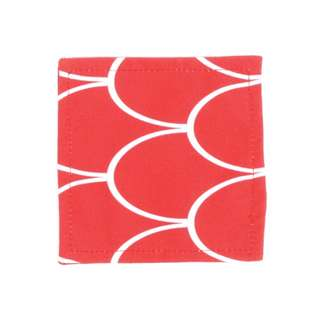 Red Passion Glass Coaster 10 x 01