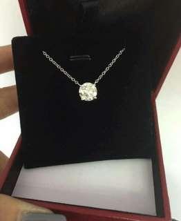 Diamond necklace (2.03 Carat)