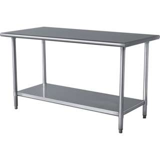 STAINLESS STEEL WORKTABLE WORKTOP