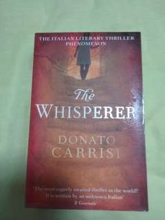 The Whisperer (by Donato Carrisi)