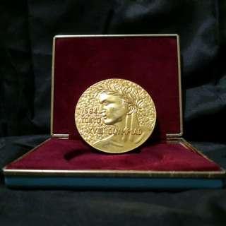 1964 vintage Tokyo Olympiad medal