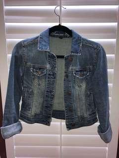 XS Jean Jacket American Eagle