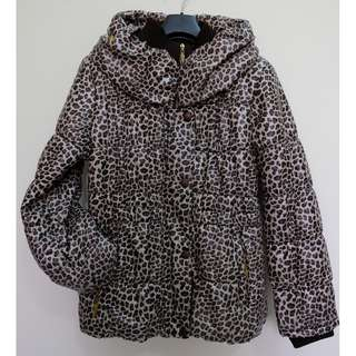 Animal Print Bubble Jacket