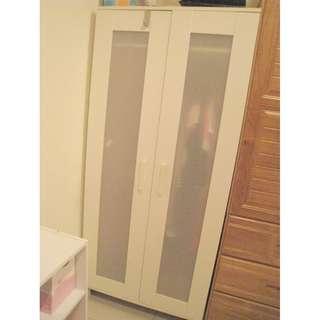 IKEA 白色木製衣櫃