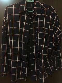 🚚 寬鬆版格子襯衫