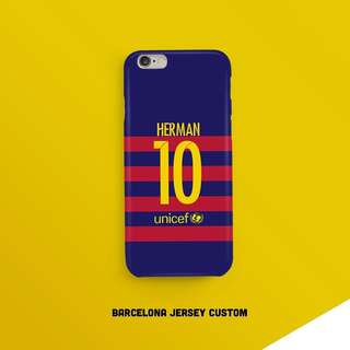 Barcelona Casing Custom your Name