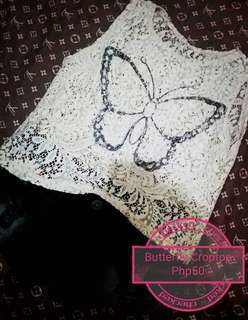 Butterfly croptop