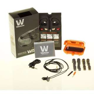 全新 Westone W50 耳機 耳筒 未開盒 100%新 earphone