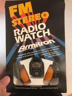 超罕懷舊收音機錶