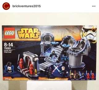 Lego Death Star Final Duel
