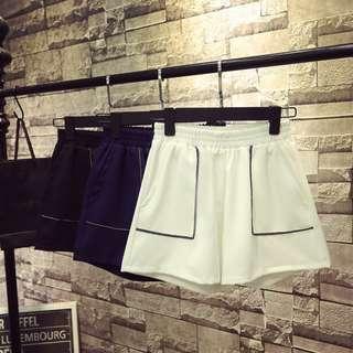 2XL 3XL Elastic Waist Shorts