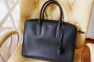 Saint Laurent Flat Business Bag