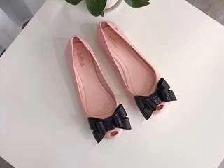 Melissa蝴蝶結果凍鞋
