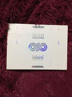 WTS INFINITE 2012 SECOND INVASION CONCERT DVD