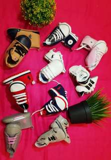 BRANDED BABY SHOES COMBO 3 FOR RM100 ONLY