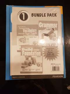 Bundle pack Revision of Math & English by Pearson