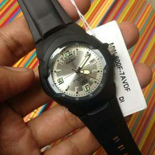 jam casio MW-600F-7A original