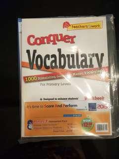 Conquer Cloze and Vocabulary Workbook 1 Bundle