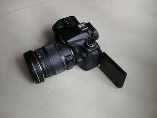 Selling Canon 70D with Sigma 17-50mm f/2.8 EX DC OS HSM